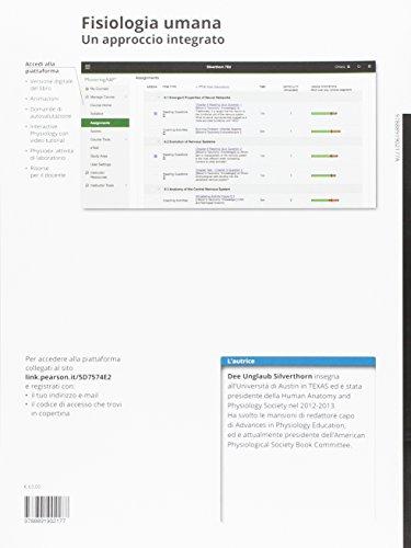 Zoom IMG-1 fisiologia umana un approccio integrato