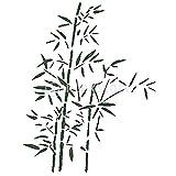 Malschablone, Wandwerkzeug, Bambusblatt, Kunst, Dekoration Haus