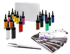Pinselmalerei Starter-Set 22-teilig / Spar-Box Large