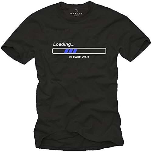 dia del orgullo friki Camisetas con frases divertidas - LOEADING PLEAS WAIT