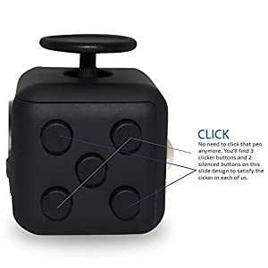 Fidget Release Cube Toy Anxiety Stress Relief Stocking Stuffer for Children and Adults from KTLShop®