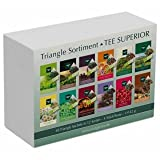TEE SUPERIOR Set mit 48 Triangle Sachets - Tee Geschenkset