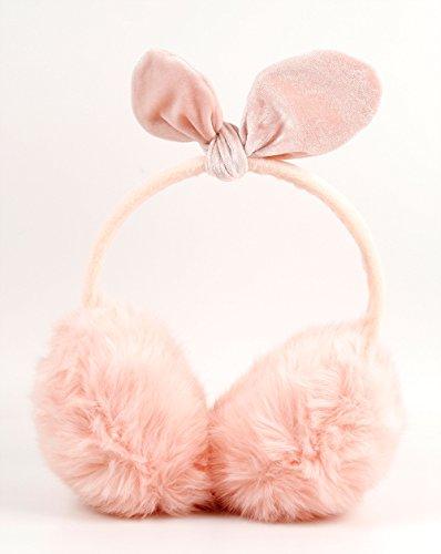 DURAGADGET Rosa fluffige Kopfhörer passend für den Lunii Geschichten Erzähler (Geschichte Passenden)