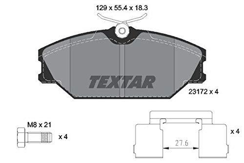 Textar 2317203 Kit Pastiglie per Freno a Disco