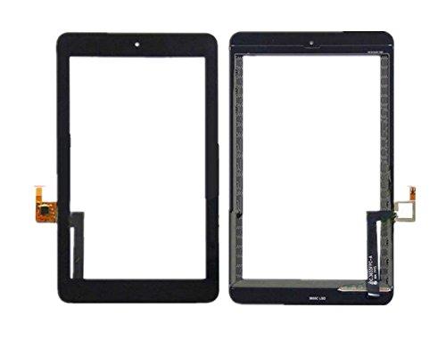 Ricambio touch screen vetro glass display schermo vetrino nero per alcatel one touch pop 7 p310 p310x + kit attrezzi smontaggio