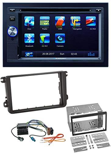 caraudio24 Blaupunkt Las Vegas 570 Bluetooth DVD USB CD 2DIN MP3 Autoradio für Skoda Praktik Superb Yeti