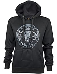 Guinness Official Merchandise - Sweat-shirt à capuche - Homme noir Pocket