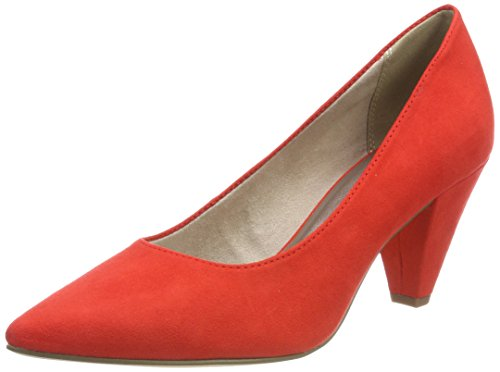Tamaris Damen 22481 Pumps, Orange (Fire), 38 EU