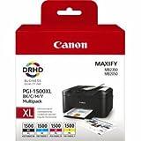 Canon Tintenpatrone Canon PGI-1500XL Multipack BK/C/M/Y