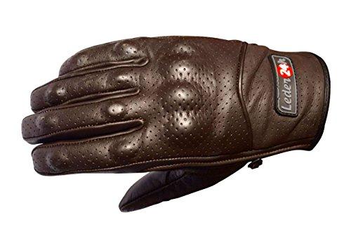 Leder24h Motorrad Handschuhe 3070 (XL)