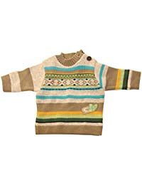 PULL EN MAILLE TRICOT CLAYEUX NEUF 3 mois