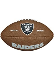 NFL Mini Team Logo Ball Oakland Raiders by Wilson