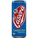 La Casera - Gaseosa sin calorías, 330 ml - [Pack de 24]