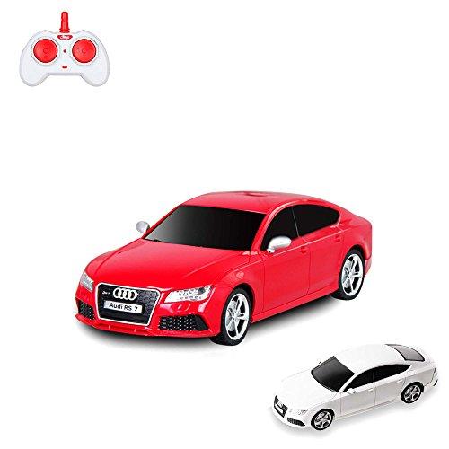 D'origine Audi RS7 RC voiture véhicule avec Technologie 2,4 GHz, licence iertes, échelle 1 : 24, modèle, Top Design, avec télécommande, NEUF
