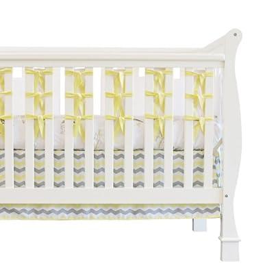 Oliver B OBC0102 Ciudad de los Sue-os de 3 camas Piece Crib Set - Amarillo