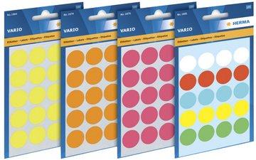 label 12mm Farbpunkt 240Et 1Stück, grau
