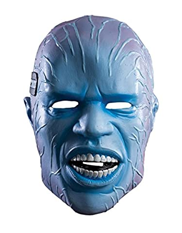 Costumes Electro Costumes Spider Man - Masque, électro-Deluxe-The Amazing Spider-Man-Accessoire pour