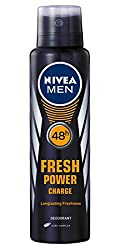 Nivea Male Deodorant Fresh Power Charge, 150ml