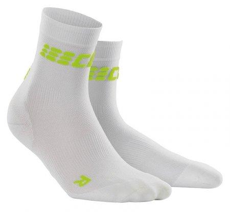 CEP Damen dynamic+ run ultralight short socks WP4BC white/green 38-40