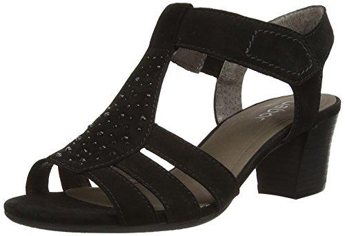 Gabor Shoes - Gabor, Sandali da donna, Nero, 38