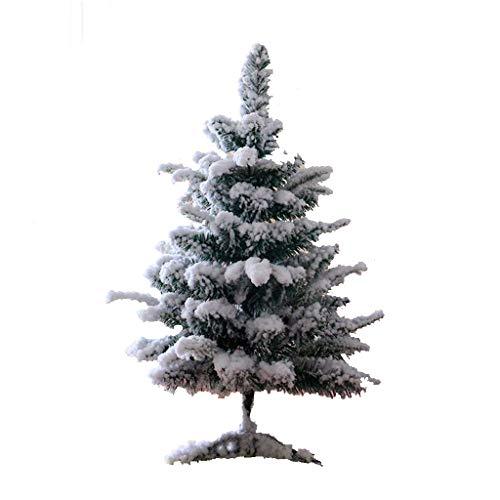 XIYALIO Weißer Schneespray des Weihnachtsbaums, der künstlichen Baumverstärkungsklammersimulations-Zedernbaum, Dekorationen Jahrfestivalszene Dekoration Innen- und im Freien beflockt