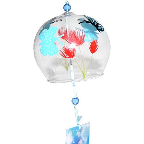 Butterfly Outdoor-dekor (Japanisch Furin Handgefertigtes Windspiel Geburtstag Valentinstag Geschenk Home Dekore (Dancing Butterfly))