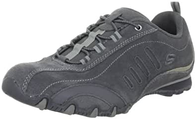 Skechers Bikers Night Slickers 99999775, Damen Fashion Sneakers, Grau (CCL), EU 38