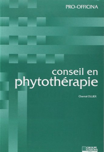 Conseil en phytothérapie