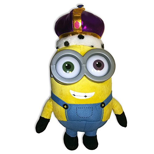Minion Bob King Crown Plush - Minions Movie 2015 - 28cm 11""