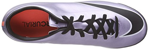 Nike Herren Mercurial Victory V TF Fußballschuhe Silber (Silber/Schwarz)
