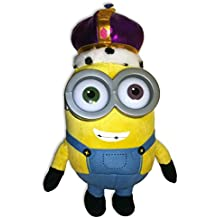 Rey Bob Minion Corona - PELUCHE Grande 28cm MINIONS Película 2015 - Oficial