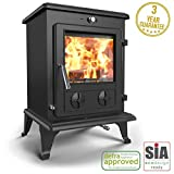 Saltfire Oslo Eco Multifuel Woodburning Stove DEFRA Approved EcoDesign