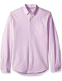 Amazon Essentials Slim-fit Long-Sleeve Solid Pocket Oxford Camisa 2de51d9880