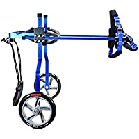 mascota de bicicletas - silla de ruedas perro, paralizado scooter de perro de edad avanzada