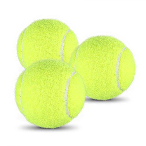 Lixada Training Tennisbälle Solo Tennis Trainer Reflex Box Tennisball Übungsball mit Schnur (Solo-tennis-trainer)