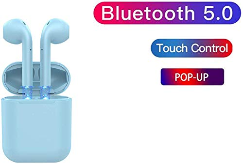 e-Brain Technocrafts inPods 12 TWS Touch Sensor Bluetooth Earphone with Mic (Mild Blue) Image 2