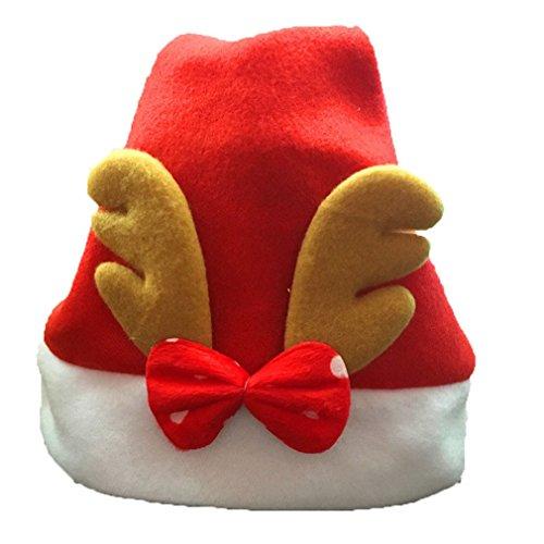 Für Babys Weihnachtsmützen (Kidslove Weihnachtsmütze Kinder Nikolausmützen Junge Mädchen)