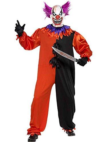 clown Kostüm bobo effrayant, Größe -