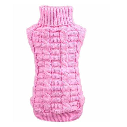 Hunde/Katzen Pullover, Transer® Pets Westen Sweatshirts mit Wolle Strick Kleidung Hunde outwears T-Shirt Puppy Mäntel für Kleid Up Doggy Kostüme Kneipe/Kätzchen Knit Apparel