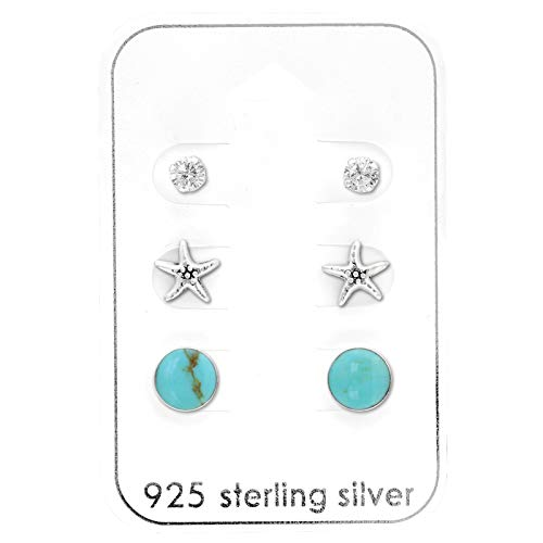 The Rose & Silver Company RS0938 - Pendientes plata