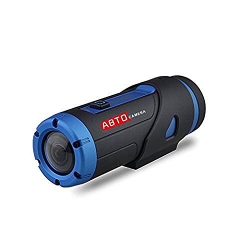 ABTO Sports Action Camera Warrior G1S Night Version H.265 Sony IMX291 2.13MP Starlight Sensor Wi-Fi HD 1080P Camcorder With 3400mAh Lithium-ion Battery & 32GB Micro SD Card G-sensor