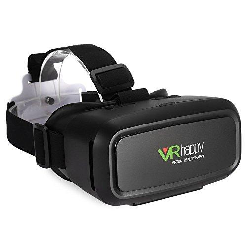 3D VR Occhiali, YFeel Realtà Virtuale VR Box Occhiali 3D VR cuffia per film in 3D / giochi compatibili con iPhone 6S / 6 Plus / 6 / 5S / 5C / 5 Samsung Galaxy S5 / S6 / Nota4 / Nota5 e altre 4,0 -6.0 Cellulari