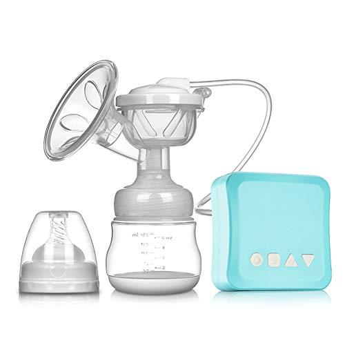 YNNB Elektrische Milchpumpe, wiederaufladbare tragbare Stillpumpe mit doppelten Betriebsarten und 9 Stufen für das Saugen von Muttermilch für Baby-Stillmassagegeräte (Pumpe Lippen Maschine)