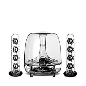 Harman Kardon Soundsticks III LED Desktop Wired Speaker System - Transparent