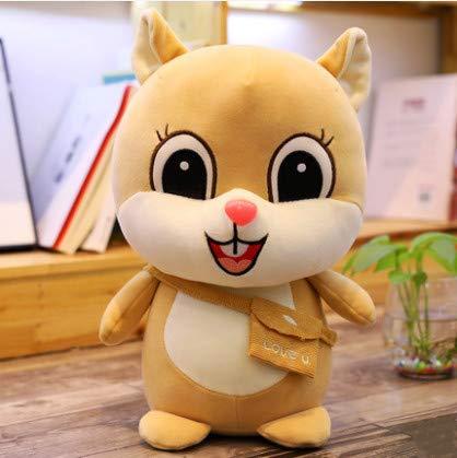 Cute Doll Kostüm - Cute Little Squirrel Doll Fat Hamster Plush Toy Doll Doll Light Brown 30Cm