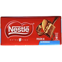 Nestlé Extrafino Tableta de Chocolate con Leche y Almendras - 123 g