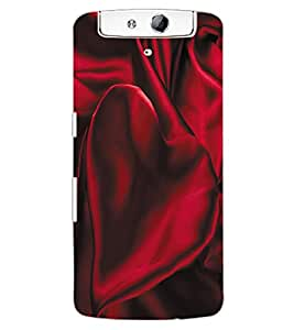 ColourCraft Love Design Back Case Cover for OPPO N1