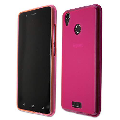 caseroxx TPU-Hülle für Gigaset GS270 / GS270 Plus, Tasche (TPU-Hülle in pink)