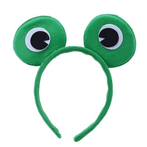 and Haarreifen Party Kostüm Haarschmuck Tiere Stirnband Headwear (Frosch) ()