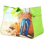 Questa bellissima borsa è indispensabile per le vacanze sulla spiaggia, in piscina o in una crociera.